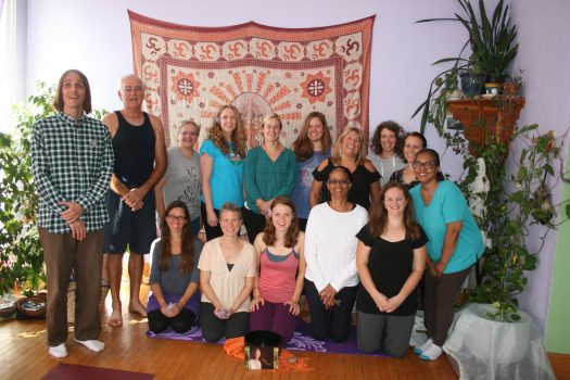 Students from our Blissful Rejuvenation Retreat Group